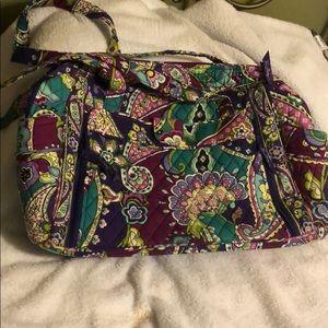 Vera Bradley Make a Change Diaper Bag in Heather